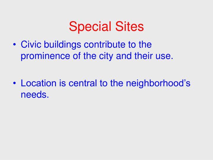 Special Sites