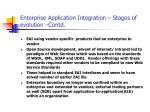 enterprise application integration stages of evolution contd3