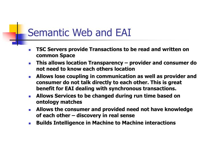 Semantic Web and EAI