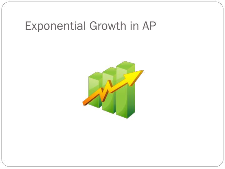 Exponential Growth in AP