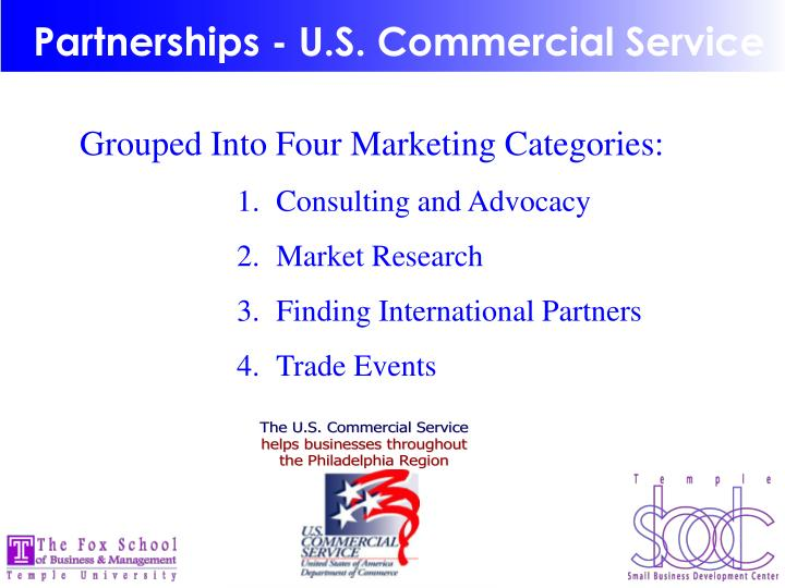 Partnerships - U.S. Commercial Service