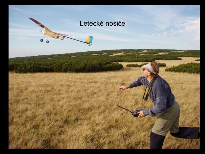 Letecké nosiče