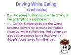 driving while eating continued2
