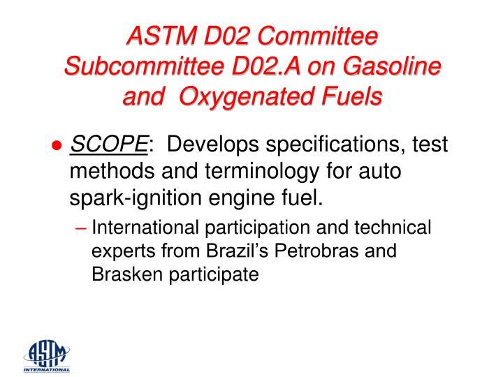 ASTM D02 Committee