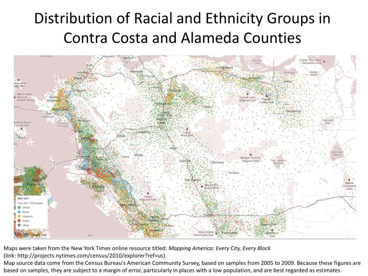 Distribution of Racial and Ethnicity Groups in