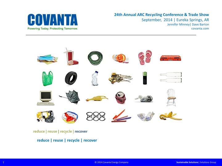 24th Annual ARC Recycling Conference & Trade Show