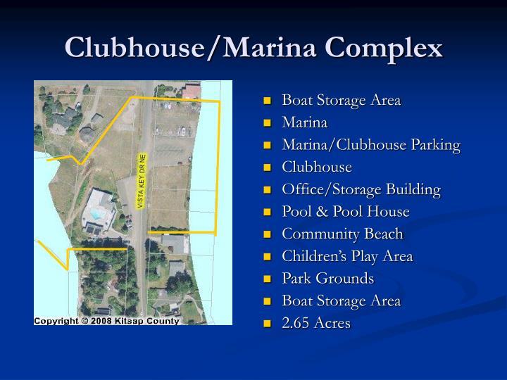 Clubhouse/Marina Complex