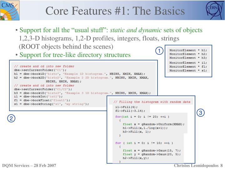 Core Features #1: The Basics