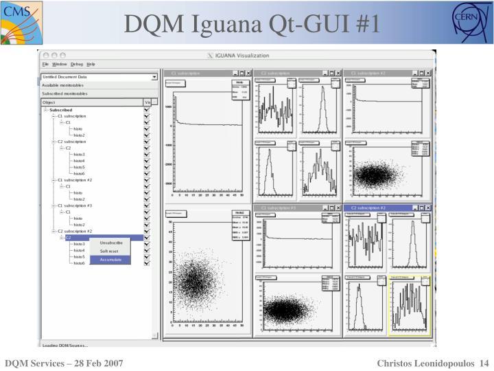 DQM Iguana Qt-GUI #1