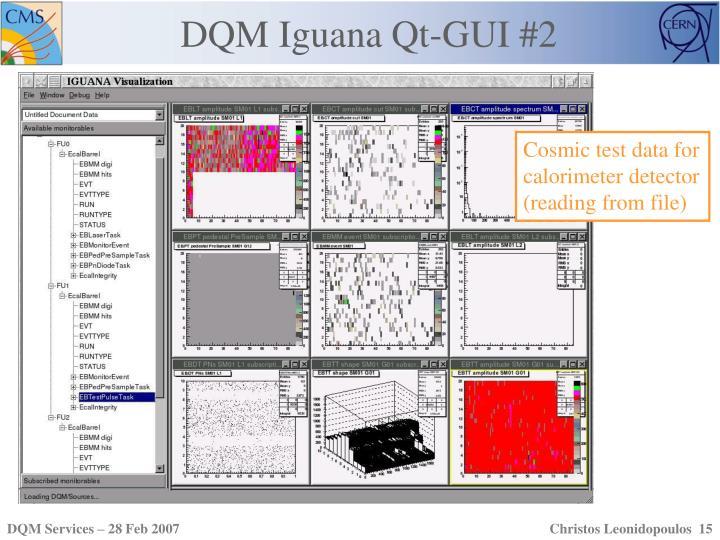 DQM Iguana Qt-GUI #2