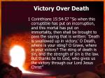 victory over death2
