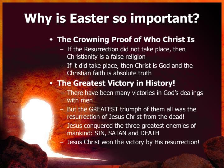 Why is Easter so important?