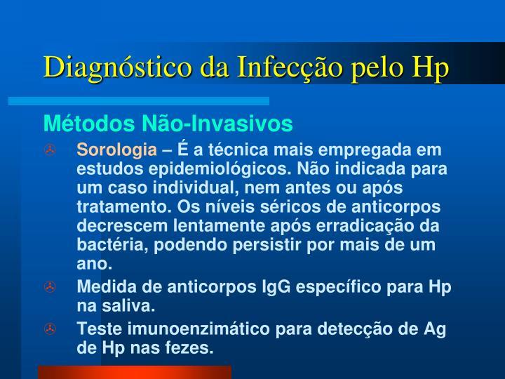 Diagnóstico da Infecção pelo Hp
