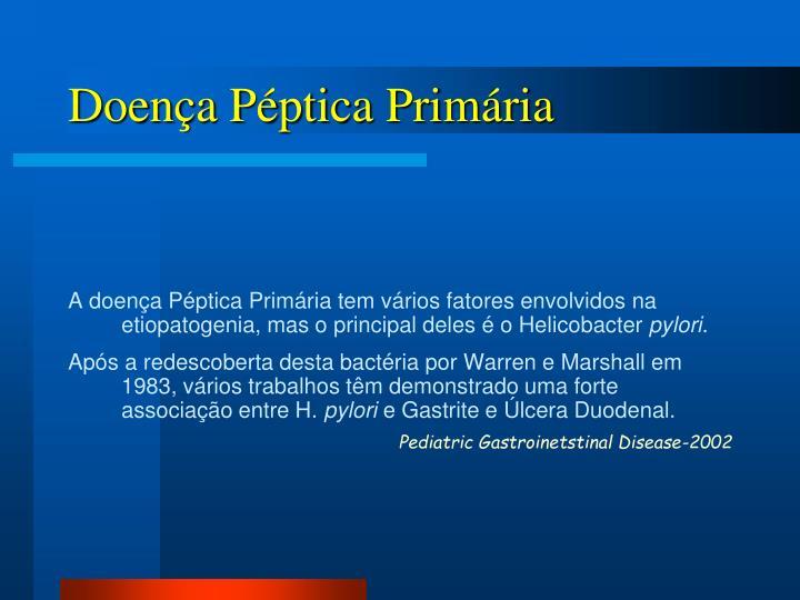 Doença Péptica Primária