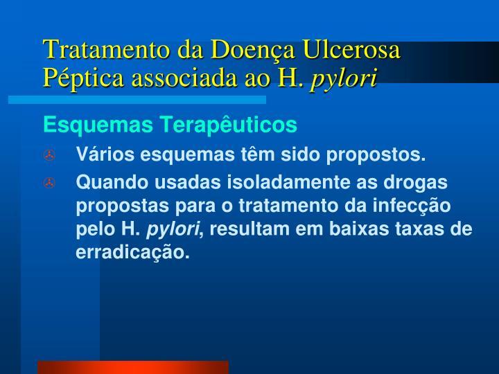 Tratamento da Doença Ulcerosa Péptica associada ao H.