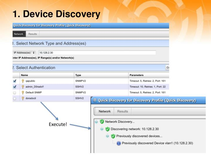 1. Device Discovery