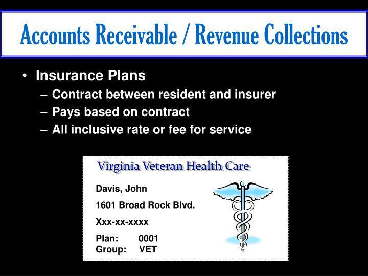 Accounts Receivable / Revenue Collections