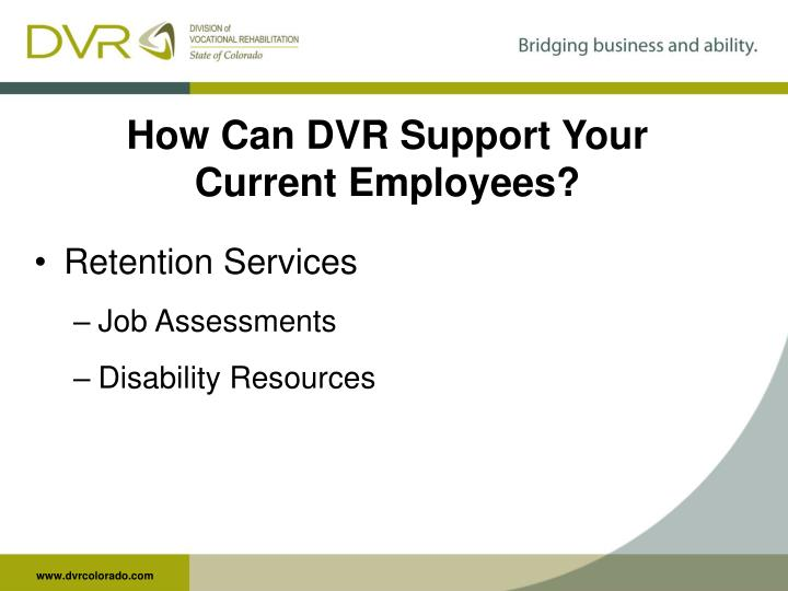 How Can DVR Support Your