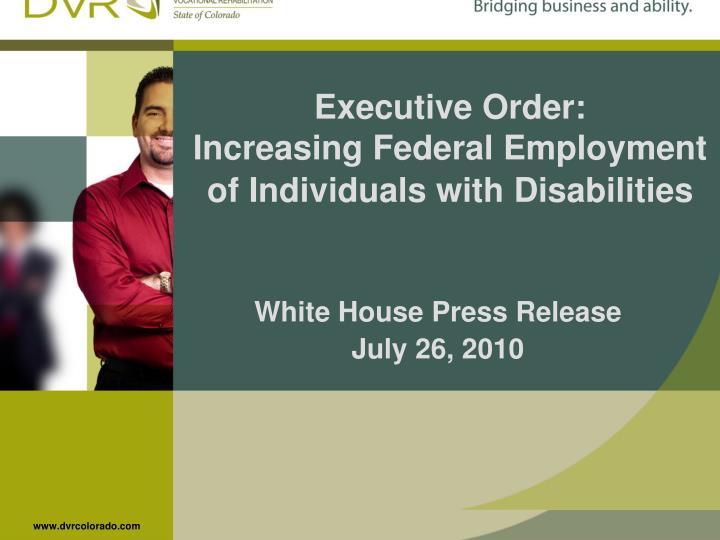 Executive Order: