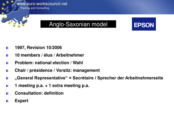 Anglo-Saxonian model