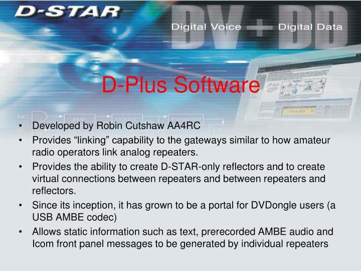 D-Plus Software