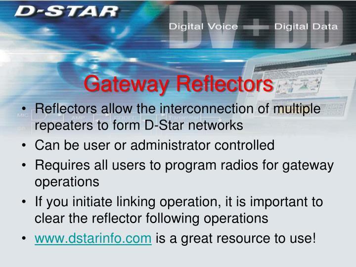 Gateway Reflectors