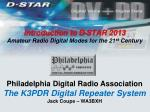 introduction to d star 2013 amateur radio digital modes for the 21 st century