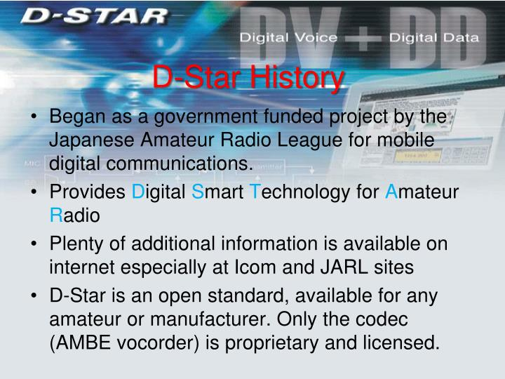 D-Star History