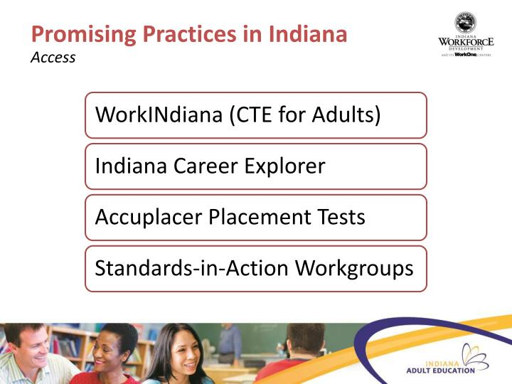 Promising Practices in Indiana