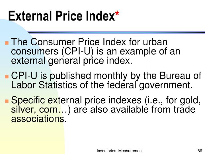 External Price Index
