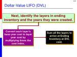 dollar value lifo dvl3
