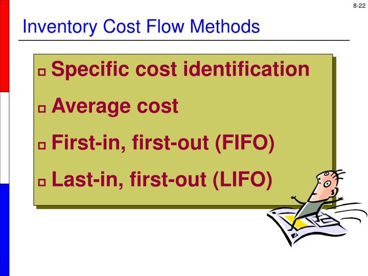 Specific cost identification