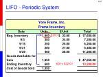 lifo periodic system2