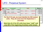 lifo perpetual system4