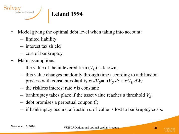 Leland 1994