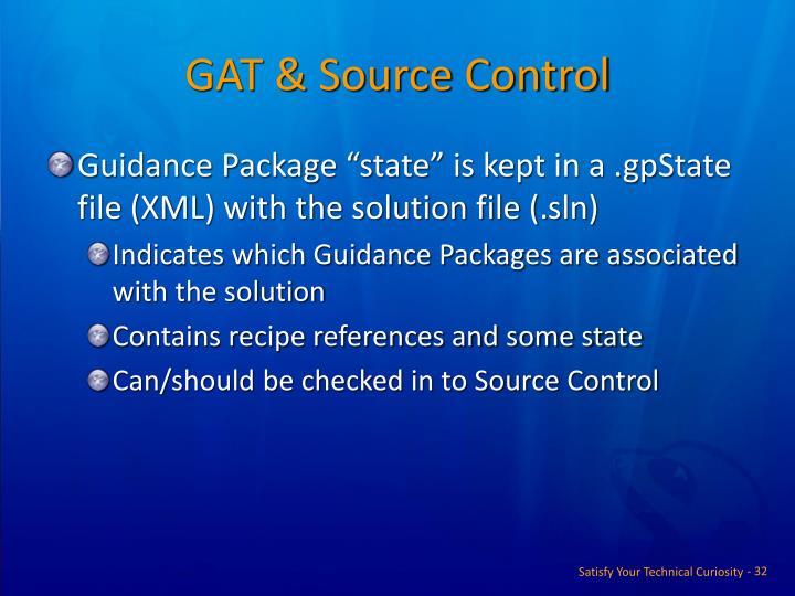 GAT & Source Control