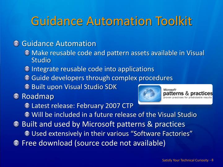 Guidance Automation Toolkit