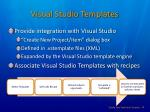 visual studio templates1
