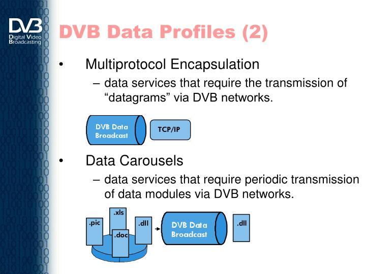 DVB Data Profiles (2)