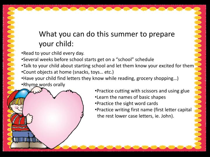 What you can do this summer to prepare