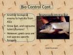 bio control cont