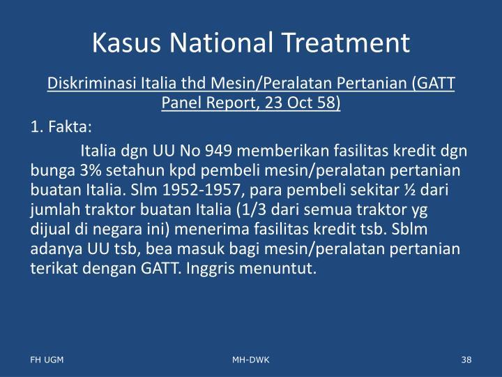 Kasus National Treatment