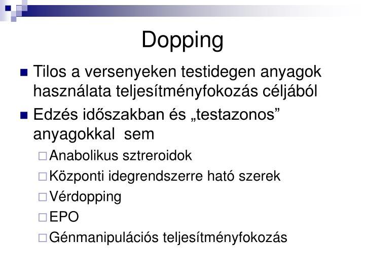 Dopping