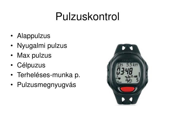 Pulzuskontrol