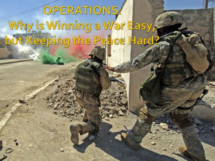 OPERATIONS: