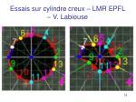 essais sur cylindre creux lmr epfl v labiouse1