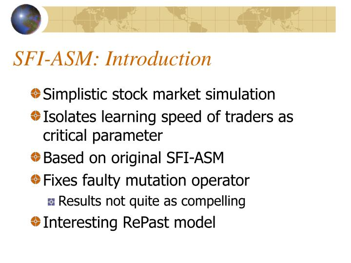 SFI-ASM: Introduction