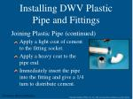 installing dwv plastic pipe and fittings4
