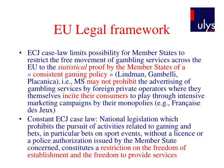 EU Legal framework