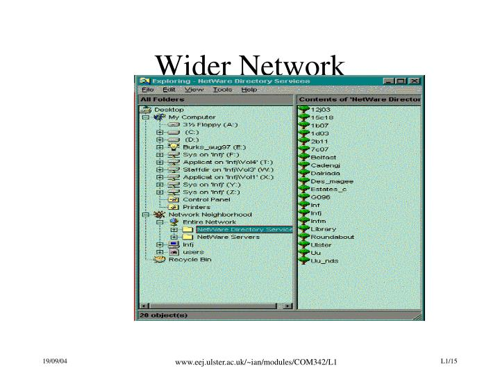 Wider Network